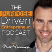 Purpose Driven Entrepreneur Podcast Artwork